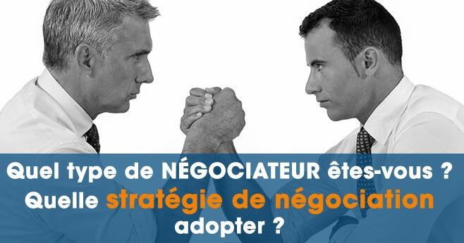 Stratégie de négociation pour négociateur