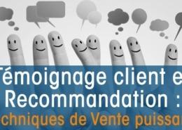 Témoignages Clients et Recommandation