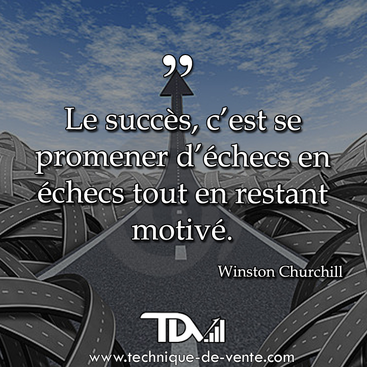 Top Citation Motivation et Réussite ! - Techniques de vente et  RU89