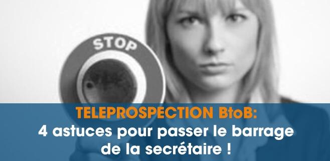 téléprospection b to b