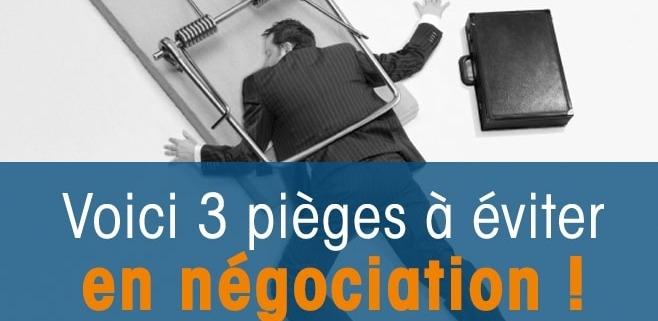 Pièges Négociation Commerciale