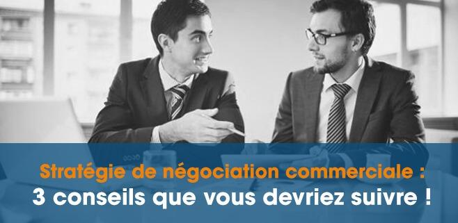 Stratégie de négociation commerciale