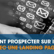 Landing page prospection