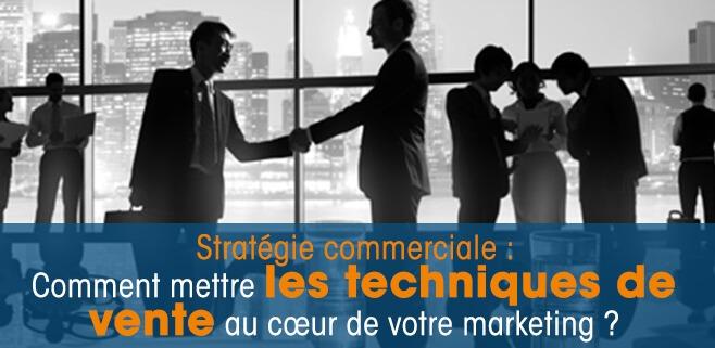 stratégie commerciale et marketing