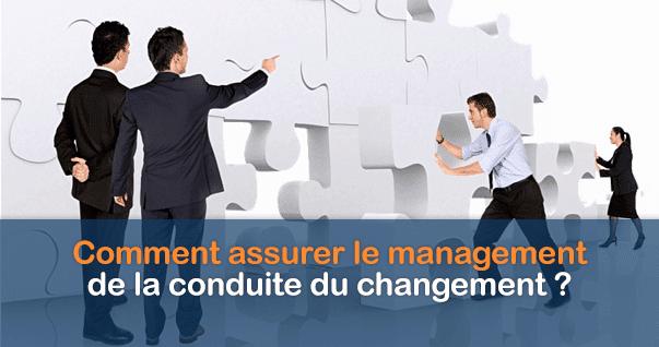 Management conduite du changement
