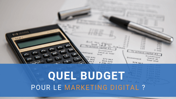 budget marketing digital
